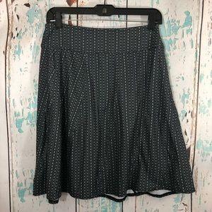 Prana A line soft stretch skirt size small